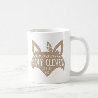 Fox, Stay Clever Little Fox Coffee Mug
