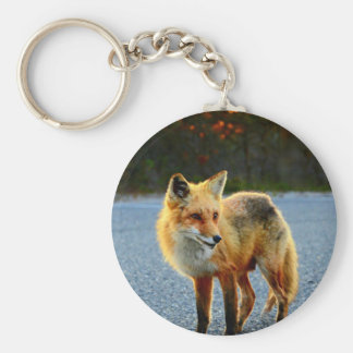 Fox Sunset Key Ring