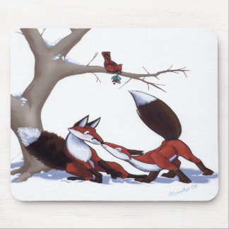 Fox Surprise - Mousepad
