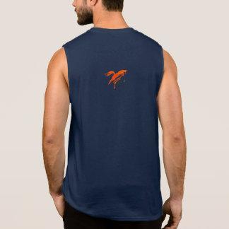Fox Tank, Wildly Clever Sleeveless Shirt
