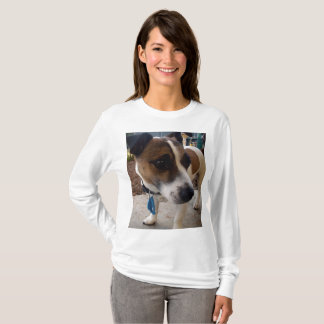 Fox Terrier, Attraction Ladies Long Sleeve T-shirt