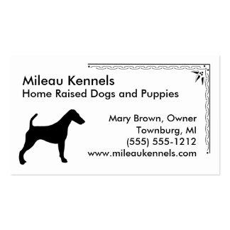 Fox Terrier Business Card Templates