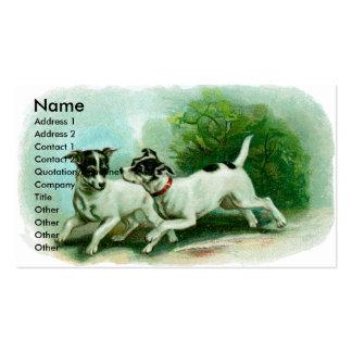 Fox Terrier Business Card