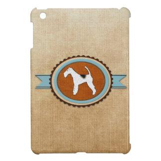 Fox Terrier Dog Emblem Badge Case For The iPad Mini
