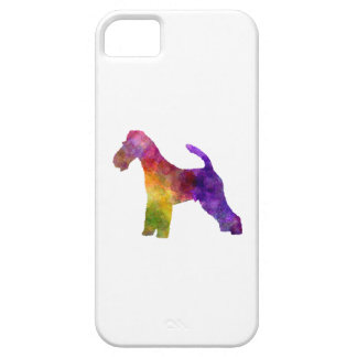 Fox Terrier in watercolor Case For The iPhone 5