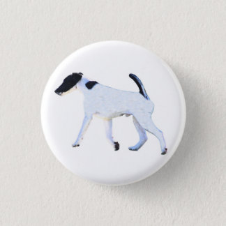 Fox Terrier Smooth 3 Cm Round Badge
