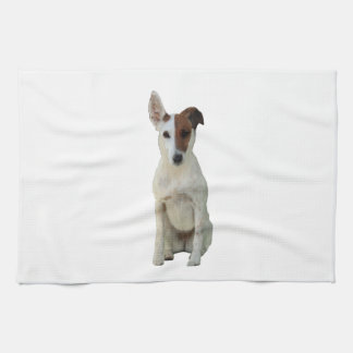 Fox Terrier Smooth dog beautiful kitchen tea towel