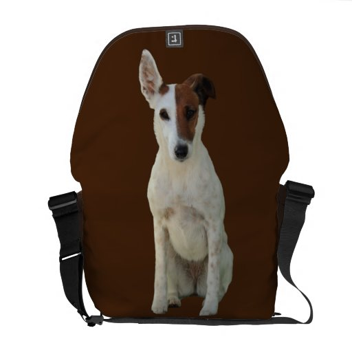 Fox Terrier Smooth dog beautiful messenger bag