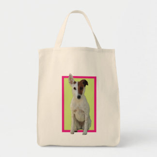Fox Terrier Smooth dog beautiful photo tote bag