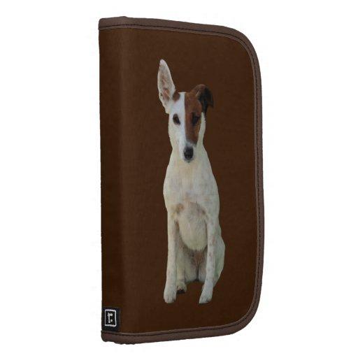 Fox Terrier Smooth dog beautiful planner, folio