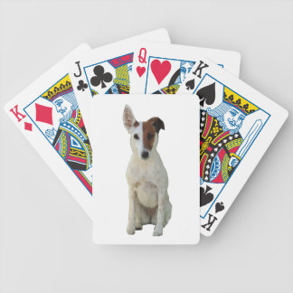 Fox Terrier smooth dog cute beautiful photo gift Bicycle Poker Deck