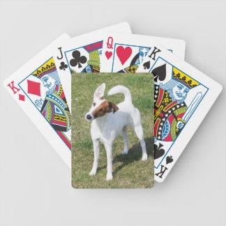 Fox Terrier smooth dog cute beautiful photo gift Poker Deck