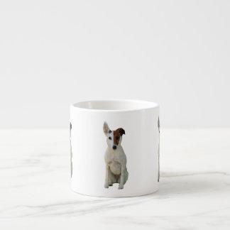 Fox Terrier Smooth dog cute photo espresso mug 6 Oz Ceramic Espresso Cup