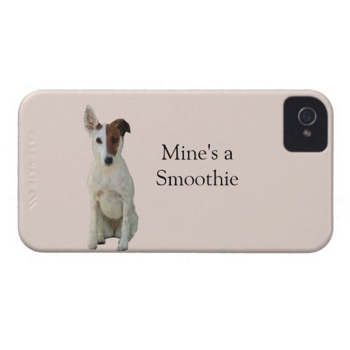 Fox Terrier Smooth dog photo blackberry bold case
