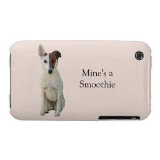 Fox Terrier Smooth dog photo iphone 3G case mate iPhone 3 Case