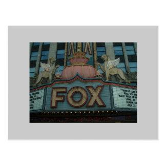 Fox Theater, Detroit, Michigan Postcard