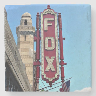 Fox Theatre, Atlanta, Georgia, Coasters,Landmark, Stone Coaster