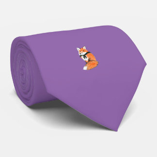 Fox Tie Purple