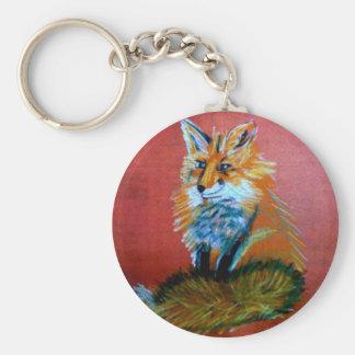 Fox Trot Key Ring