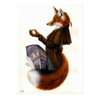 Fox-trots Postcard