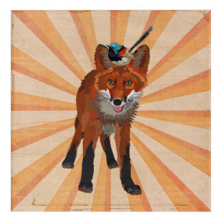 FOX & WREN ACRYLIC WALL ART