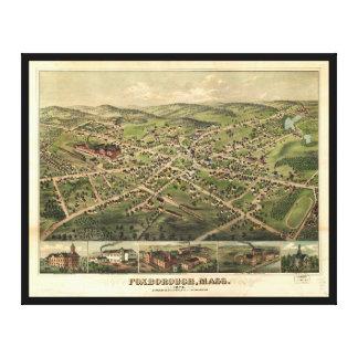 Foxborough, Massachusetts (1879) Canvas Print