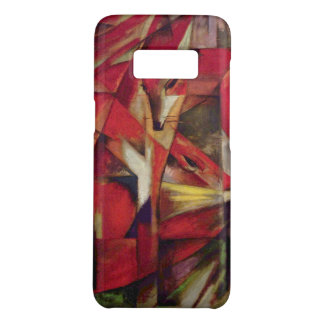 Foxes by Franz Marc, Vintage Abstract Cubism Art Case-Mate Samsung Galaxy S8 Case