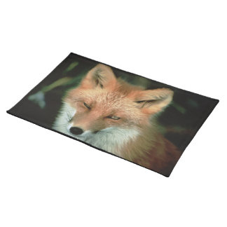 Foxes Placemat