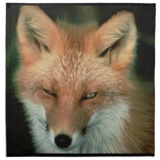 Foxes Printed Napkin