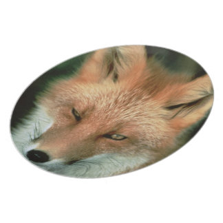 Foxes Party Plates