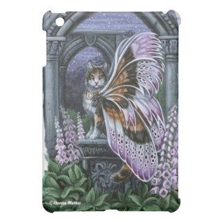 Foxglove Calico Fairy Cat iPad Case