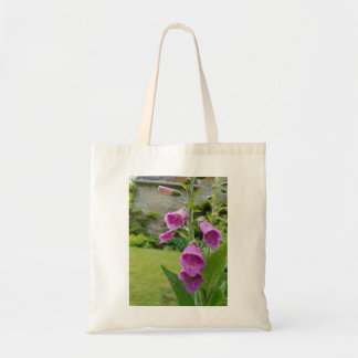 Foxglove Flower Tote Bag