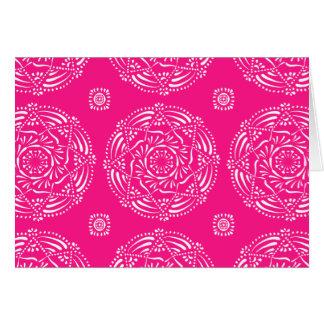 Foxglove Mandala Card