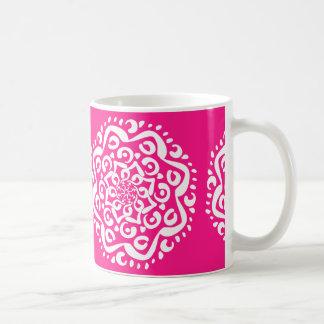 Foxglove Mandala Coffee Mug
