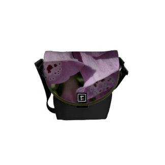 Foxglove Spring Mini Messenger Bag