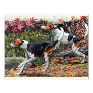Foxhounds Card