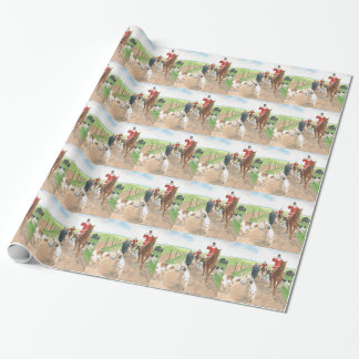 Foxhunt 3 wrapping paper