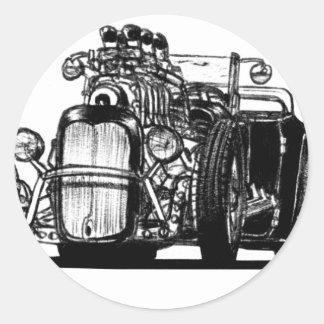 Foxtail Classic Round Sticker
