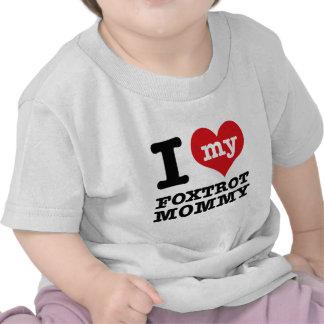 foxtrot dance Mom designs T-shirt