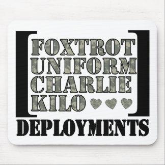 Foxtrot Deployments Mouse Pad