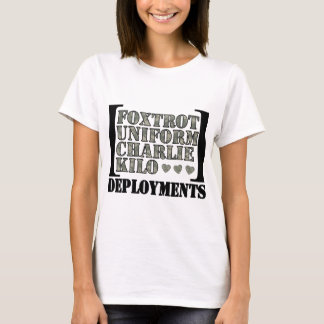 Foxtrot Deployments T-Shirt