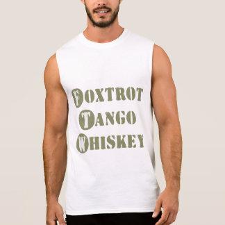 Foxtrot Tango Whiskey Sleeveless T-shirt