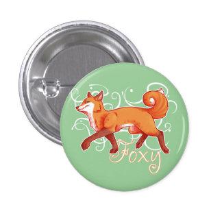 Foxy 3 Cm Round Badge