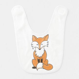 Foxy Baby Bib - customize your own!