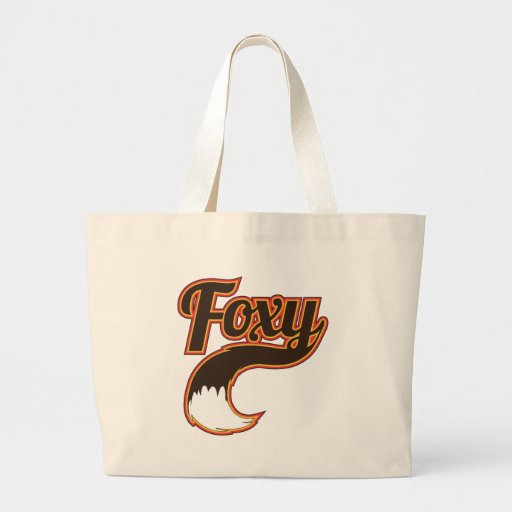 Foxy Canvas Bags