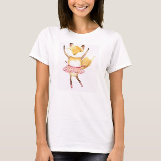 Foxy Ballerina T-Shirt