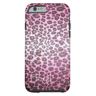 Foxy Cheetah Print iPhone 6 Case