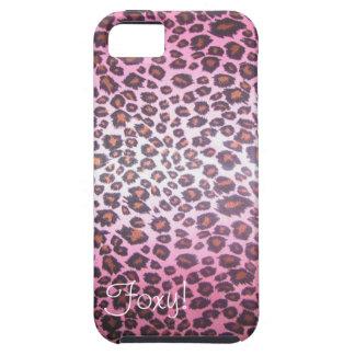 Foxy! Cheetah Print iPhone 5 case