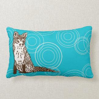 Foxy Circles Lumbar Cushion