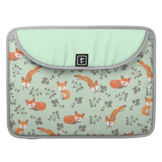 Foxy Floral Macbook Pro Sleeve